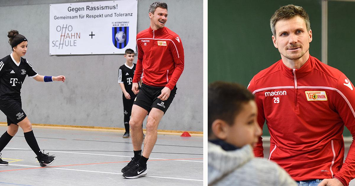 Lernen durch Fußball: Ein Projekt an der Otto-Hahn-Schule, Fotos: Stefanie Fiebrig